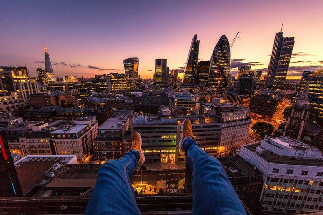 Руфер показує найефектніші краєвиди Лондона: яскраві фото - фото 351439