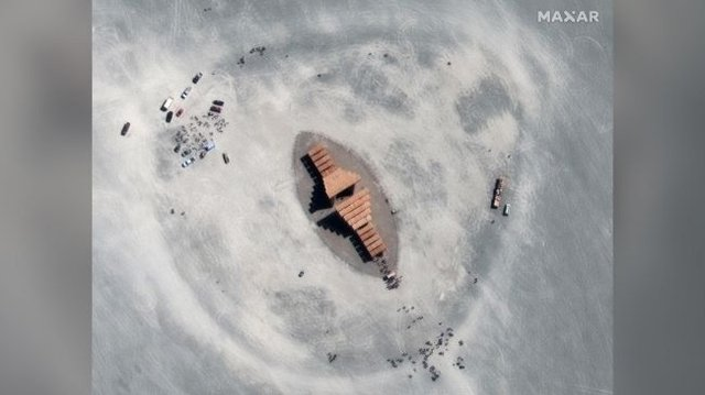Фестиваль Burning Man 2019 показали з космосу: видовищні кадри - фото 351626