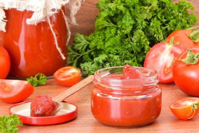 томатна паста в домашніх умовах - фото 352175