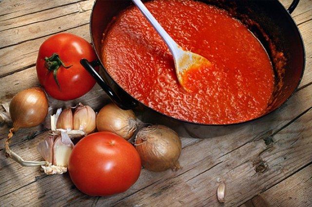 томатний сік з томатної пасти - фото 352178