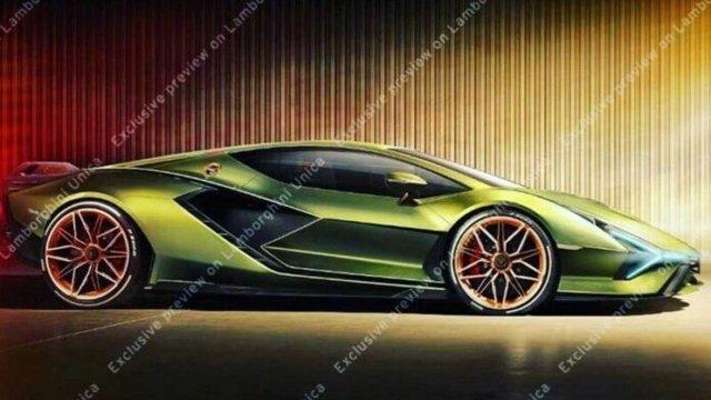 Lamborghini Sian  - фото 352262