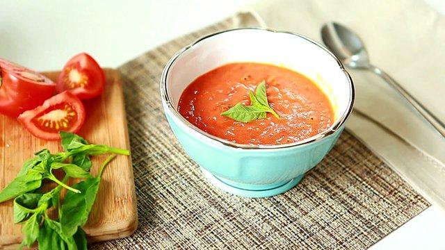 Помідоровий крем-суп   - фото 352790