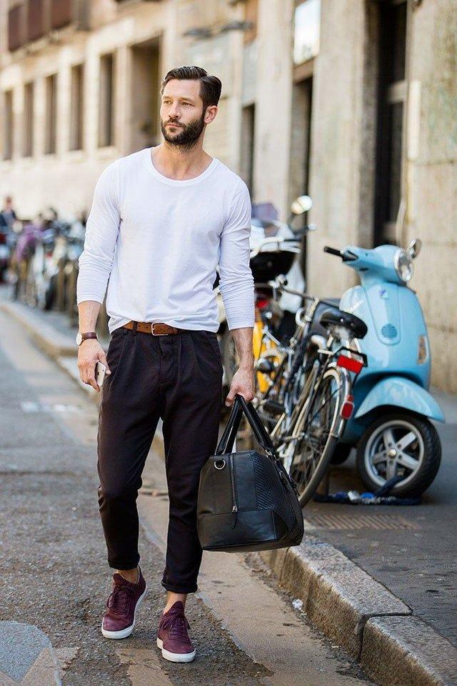 Чоловіча мода: головні тренди осені 2019 - фото 352820