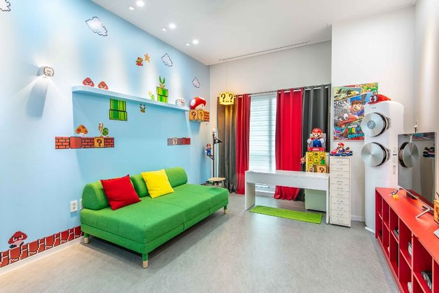 Фанат Super Mario облаштував кімнату в стилі відеогри - фото 352910