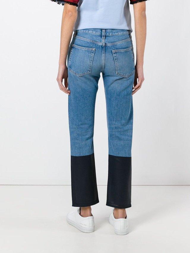 Двоколірні джинси: новий тренд у Instagram - фото 353098