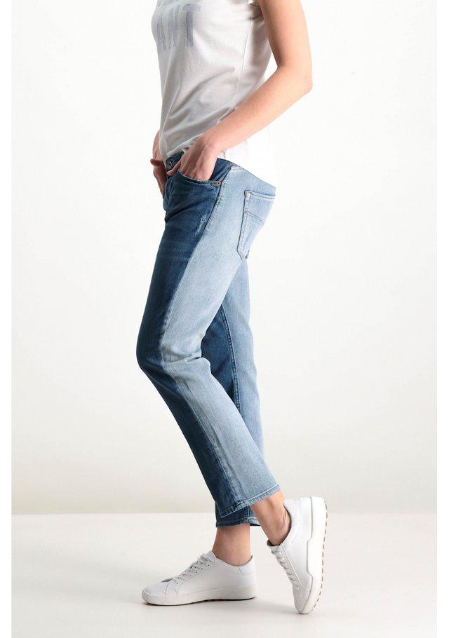 Двоколірні джинси: новий тренд у Instagram - фото 353099