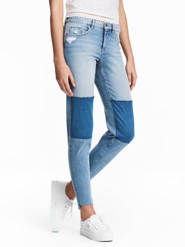 Двоколірні джинси: новий тренд у Instagram - фото 353100
