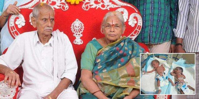 В Індії 74-річна жінка народила близнюків - фото 353143