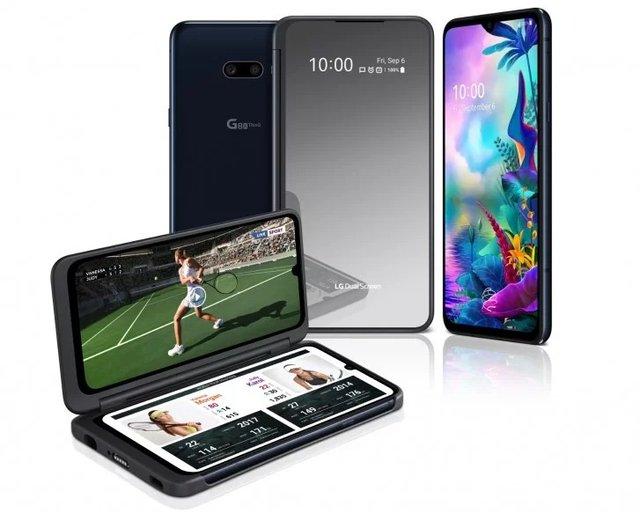 LG G8X ThinQ: представлено захищений флагман з трьома дисплеями - фото 353174