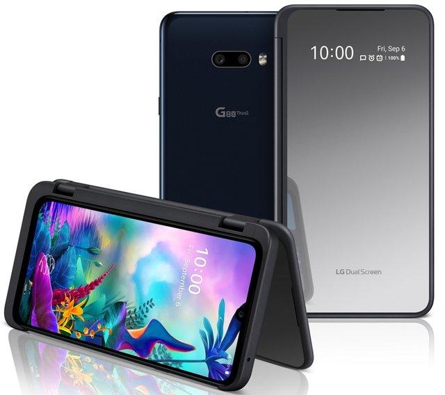 LG G8X ThinQ: представлено захищений флагман з трьома дисплеями - фото 353176