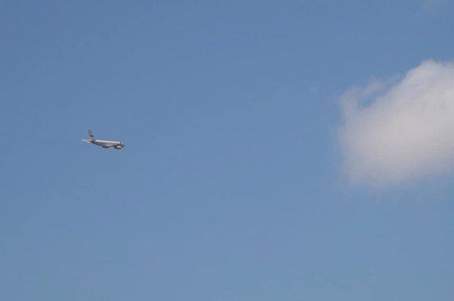 """Одночасно з аеропорту """"Бориспіль"""" вилетів російський літак  - фото 353286"""