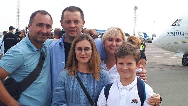 Роман Сущенко з родиною  - фото 353310