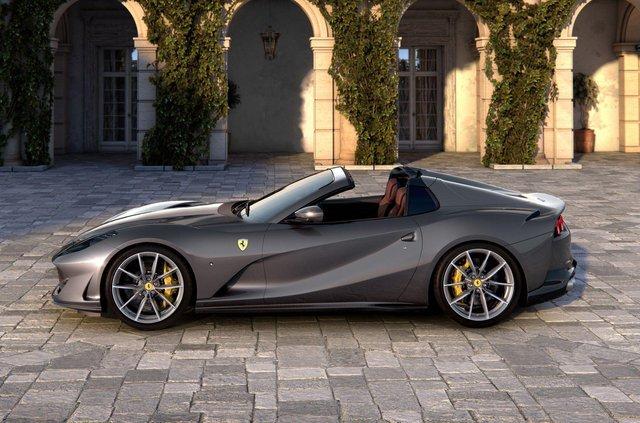 Ferrari представила найпотужніший у світі родстер - фото 353768