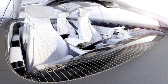 Mercedes-Benz представив розкішний Vision EQS - фото 353960