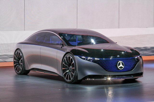 Mercedes-Benz представив розкішний Vision EQS - фото 353963