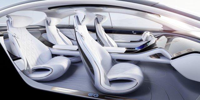 Mercedes-Benz представив розкішний Vision EQS - фото 353964