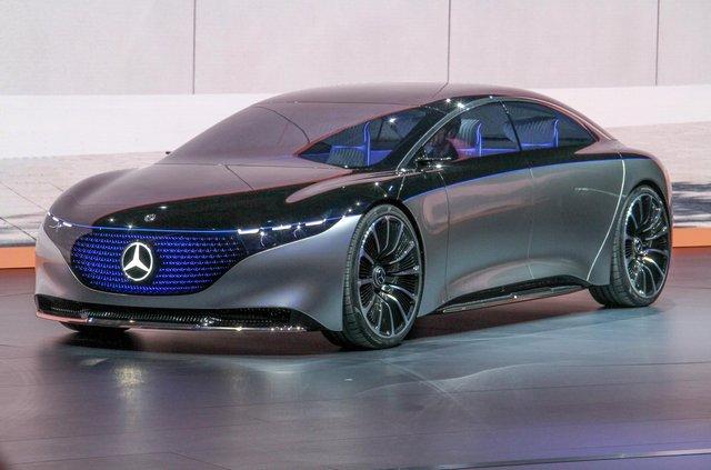 Mercedes-Benz представив розкішний Vision EQS - фото 353966