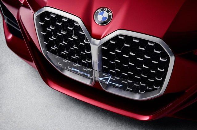 BMW показала вражаючий шоукар Concept 4: ефектні фото - фото 354047