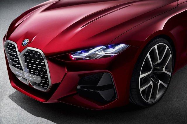 BMW показала вражаючий шоукар Concept 4: ефектні фото - фото 354048