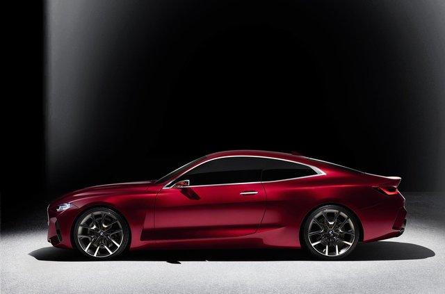 BMW показала вражаючий шоукар Concept 4: ефектні фото - фото 354049