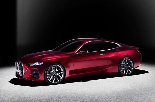 BMW показала вражаючий шоукар Concept 4: ефектні фото - фото 354052