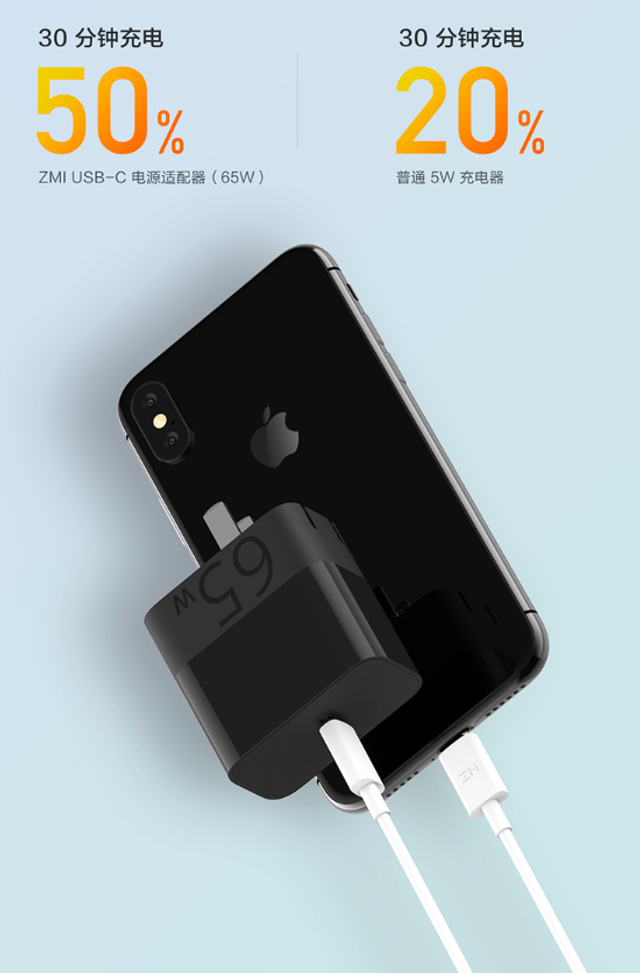 ZMI представила бюджетну і надзвичайно компактну зарядку для смартфонів - фото 354084