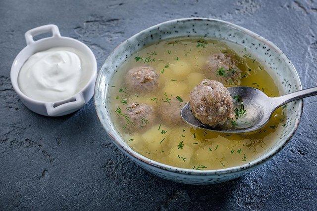Суп з фрікадельками  - фото 354147