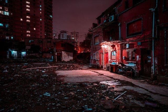 Кіберпанкові вулиці Шанхая: фото, які змушують затримати погляд - фото 354212