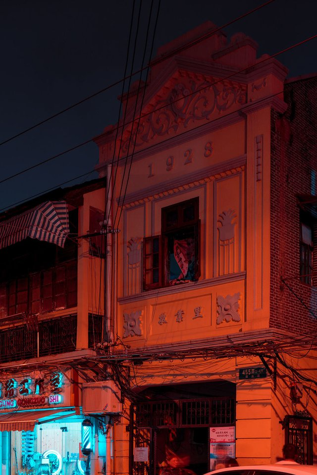 Кіберпанкові вулиці Шанхая: фото, які змушують затримати погляд - фото 354213