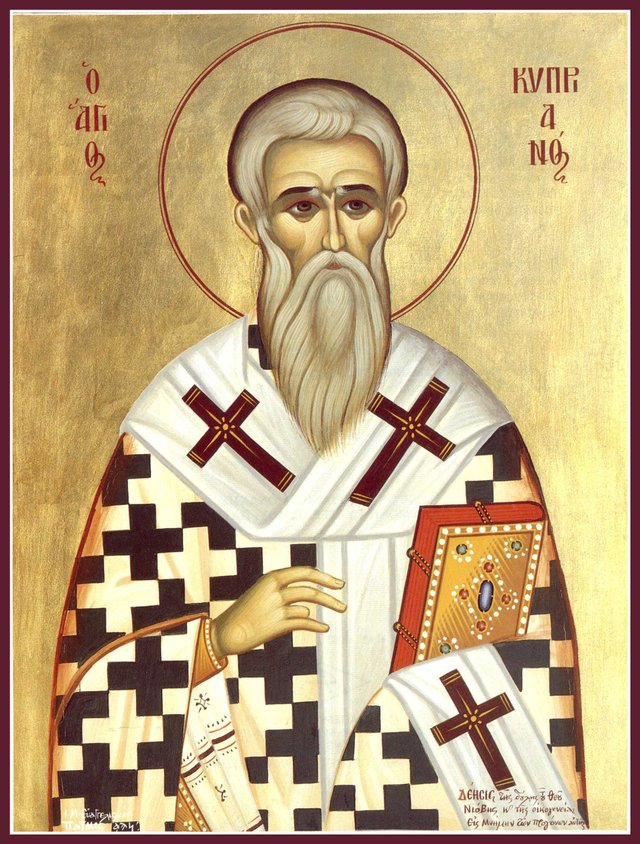Священномученик Кипріан Карфагенський  - фото 354474