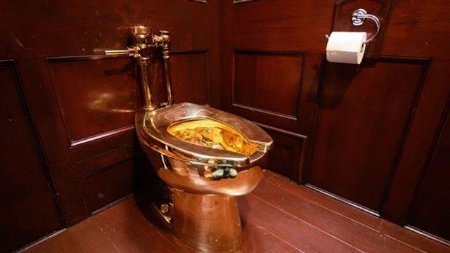 Здається, ми знаємо, хто це зробив: у Британії з палацу вкрали золотий унітаз - фото 355090