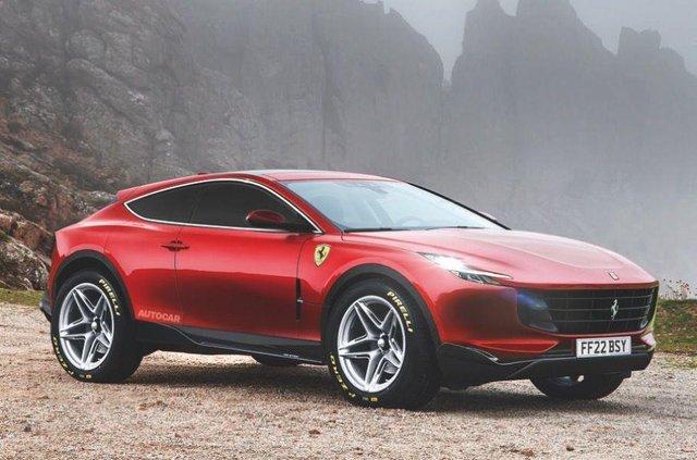 У мережі з'явилась нова інформація про кросовер Ferrari - фото 355355