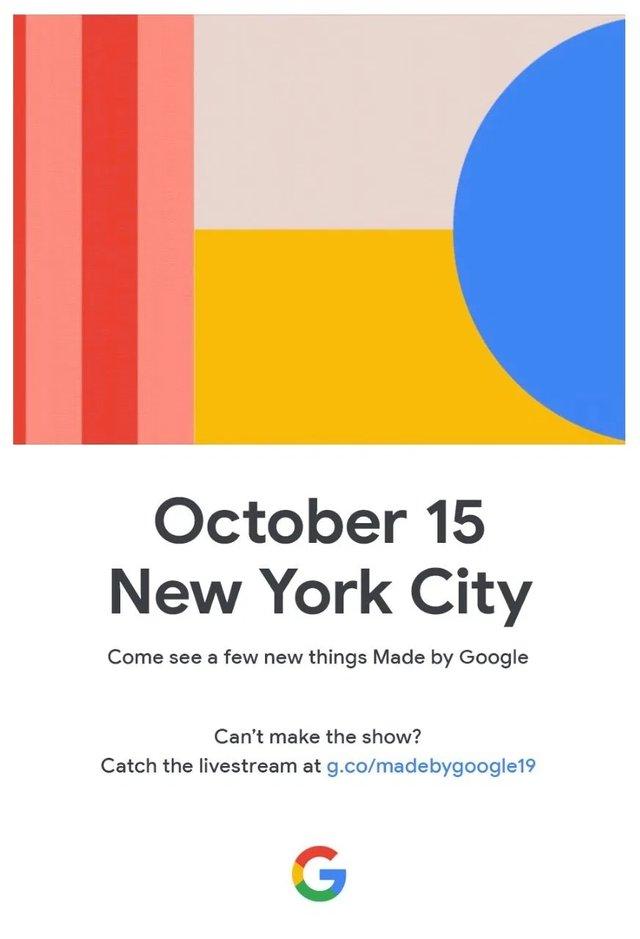 Google назвала дату презентації смартфонів Pixel 4 та Pixel 4 XL - фото 355542
