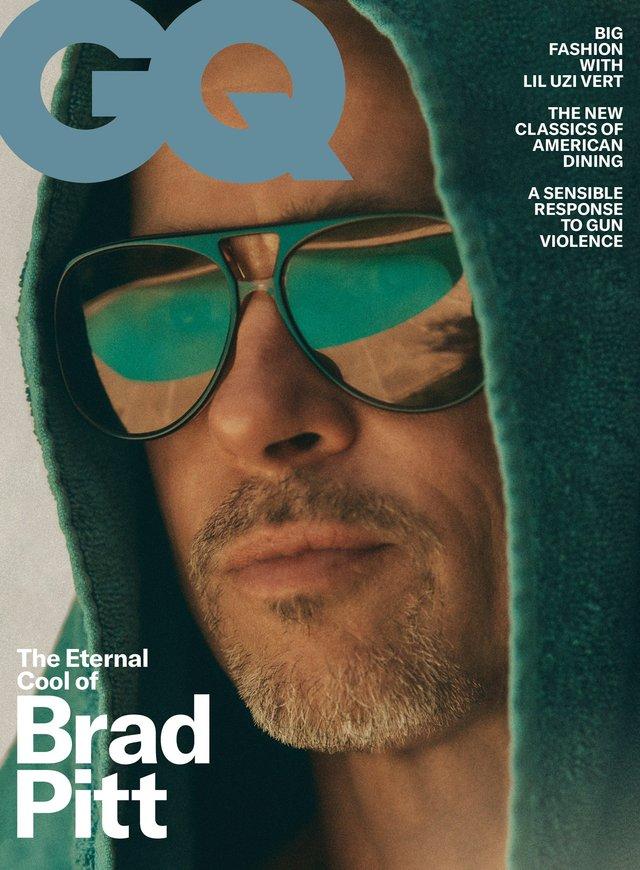 На тебе полюють: Бред Пітт знявся для GQ і дав круте інтерв'ю - фото 355554