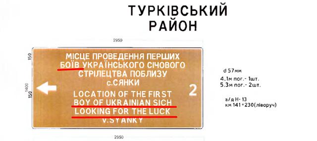 Бої – boys: на Львівщині встановили знаки із дивним перекладом англійською - фото 355583