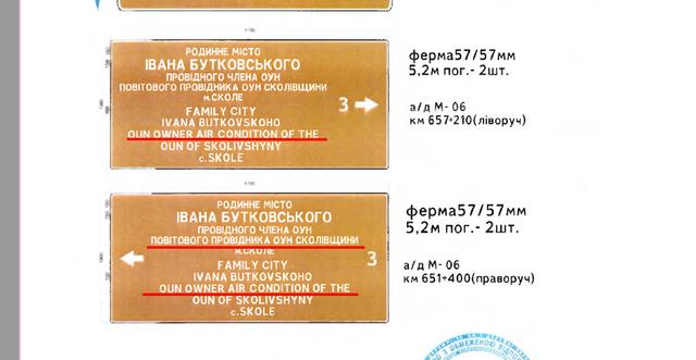 Бої – boys: на Львівщині встановили знаки із дивним перекладом англійською - фото 355585