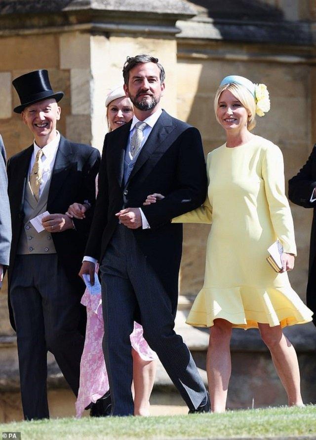 Ізабель Мей на весіллі Меган Маркл та принца Гаррі - фото 355660