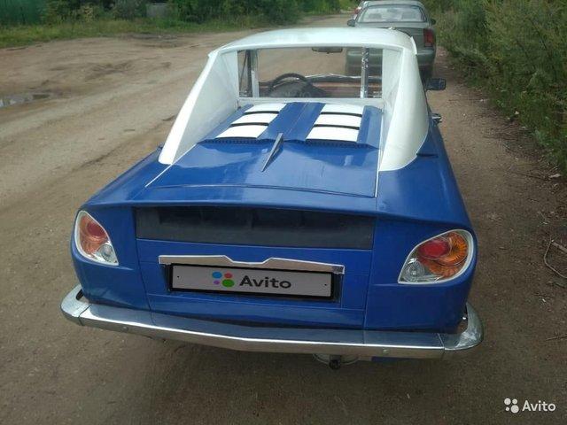 Старий Запорожець перетворили на ефектний спорткар: фото - фото 355672