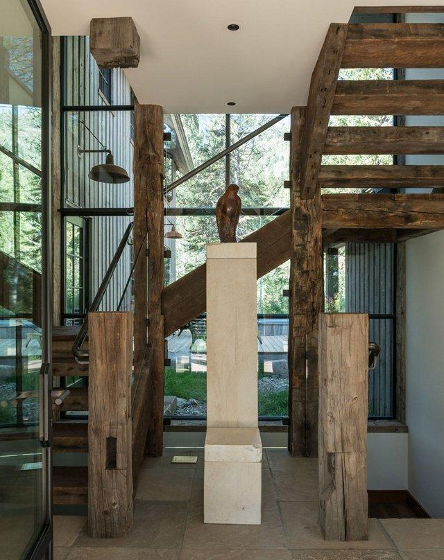 Як виглядає ідеальний дім для відпочинку на краю лісу (фото) - фото 355723