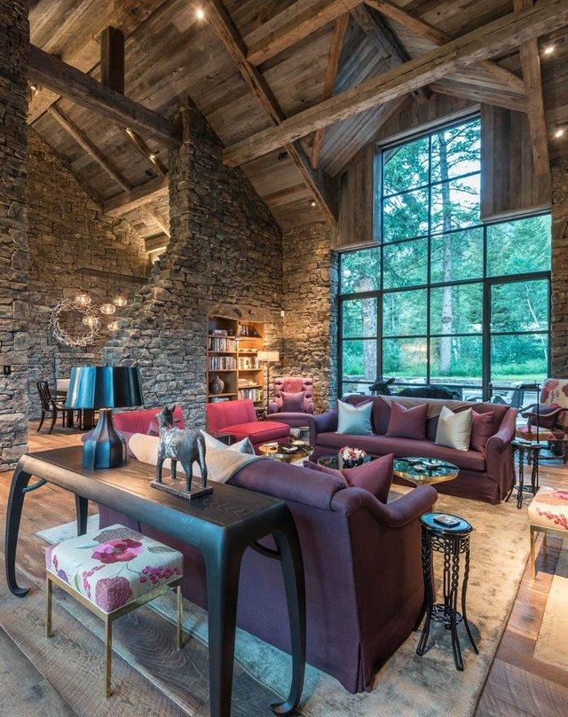 Як виглядає ідеальний дім для відпочинку на краю лісу (фото) - фото 355725