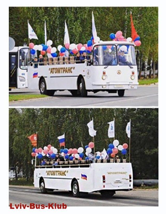 У мережі показали унікальний український автобус-кабріолет - фото 355779