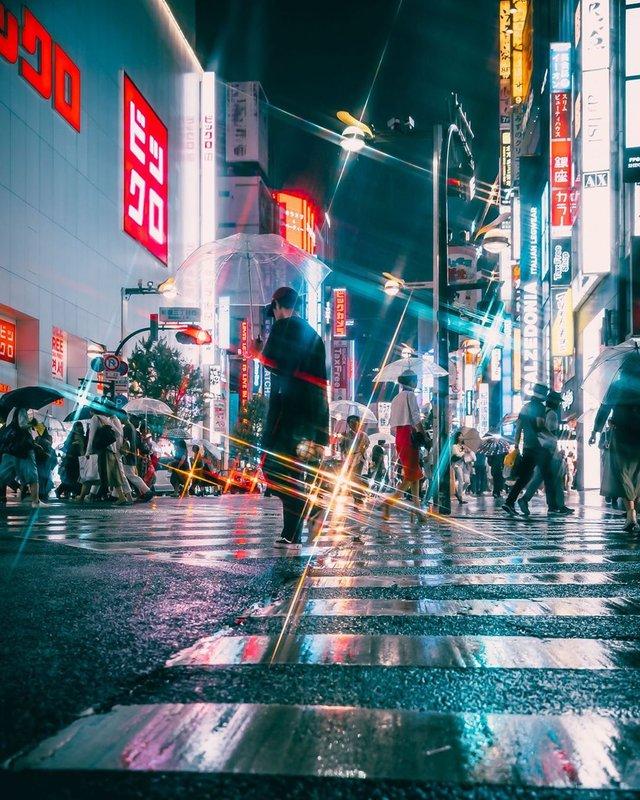 Прогулянка вулицями Токіо у яскравих фото - фото 355802