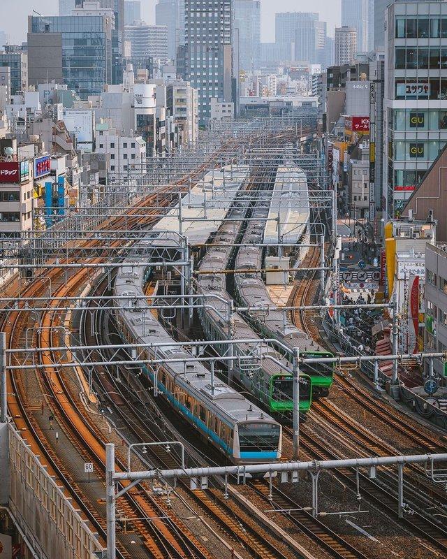Прогулянка вулицями Токіо у яскравих фото - фото 355813