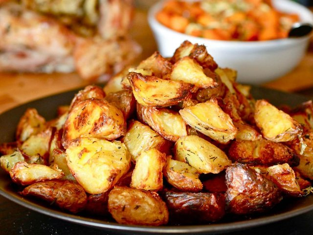 Рецепт картоплі по-селянськи  - фото 355899