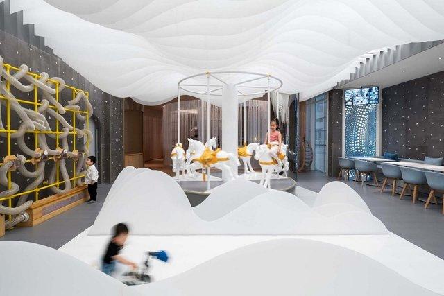 У Китаї з'явилось незвичайне дитяче кафе, яке сподобається і дорослим - фото 355987