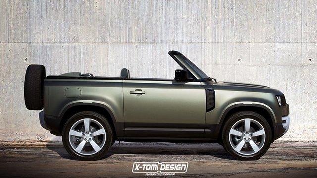 У мережі показали незвичайний кабріолет Land Rover Defender - фото 356078
