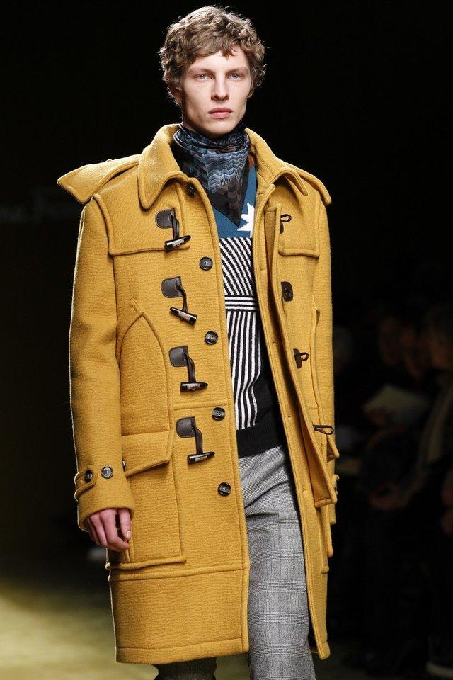 Модні чоловічі пальта осінь 2019: ТОП-5 стильних моделей - фото 356347