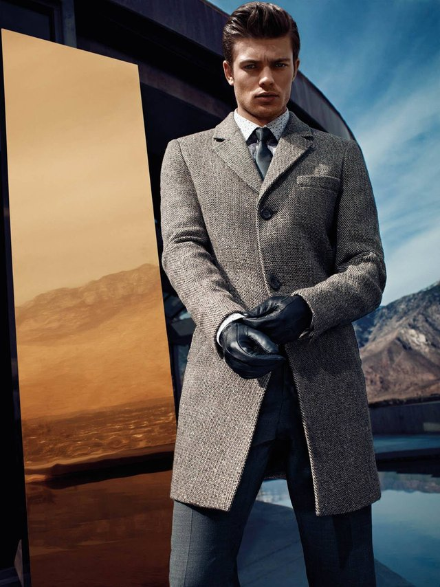 Модні чоловічі пальта осінь 2019: ТОП-5 стильних моделей - фото 356354