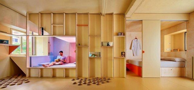 Ця незвичайна квартира у Мадриді має власний крихітний город: фото - фото 356424