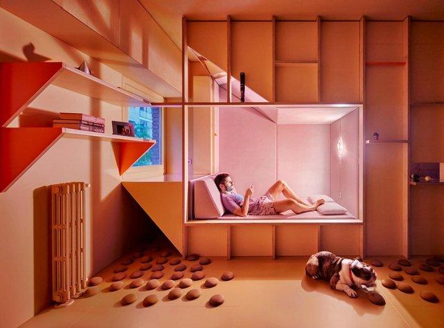 Ця незвичайна квартира у Мадриді має власний крихітний город: фото - фото 356425